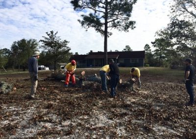 Interfaith Initiative Cleanup for Hurricane Florence Victims - October 2018
